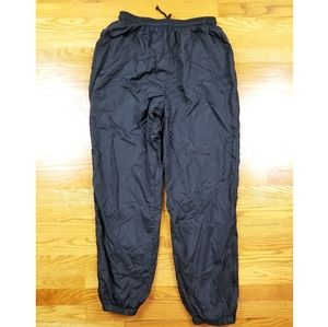 VTG 90 Adidas Black Nylon Wind Track Jogger Pants